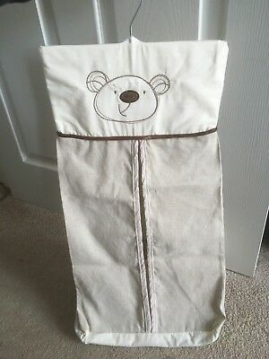 teddy bear Baby Nappy Stacker Vgc
