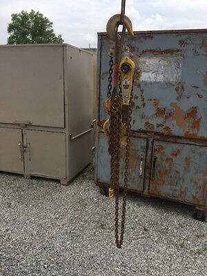 YALE 6 Ton Lever Hoist PSB-A 10' Lift, Chain Come Along