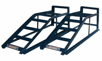 Pair of Car Ramps with 2500kg Capacity 2.5 Tonne Van 4x4 Ramp Cougar CRW25