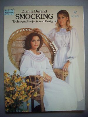 Smocking techniques projects designs charts patterns Durand
