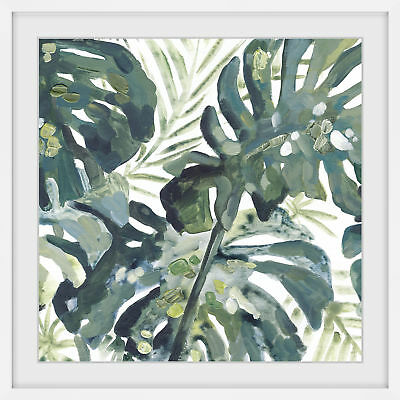 NEW Watercolour Leaf Framed Print Marmont HIll Wall Art