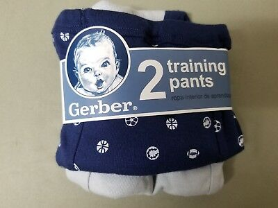 new gerber toddler 2 pack training pants.  size 2T
