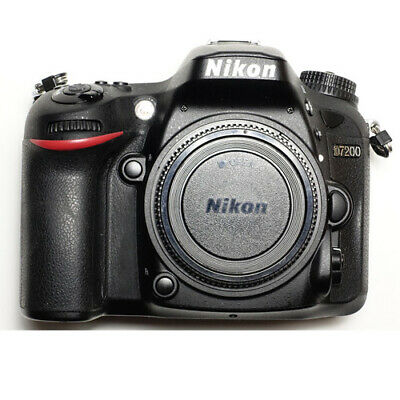 Nikon D7200 Body DSLR Camera Multi Language Stock in EU