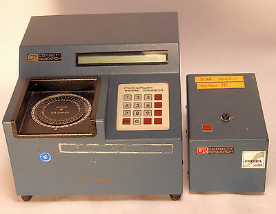 Corbett Research FTS-1S + HS-2 Capillary Thermal Sequencer Thermo Cycler