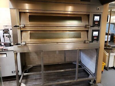 Bakery Deck Oven With Steamer Electric #uni-Do3W-2 Year 2017