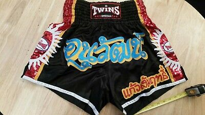 Twins Special Muay Thai Shorts XL fits 32 -38 waist.