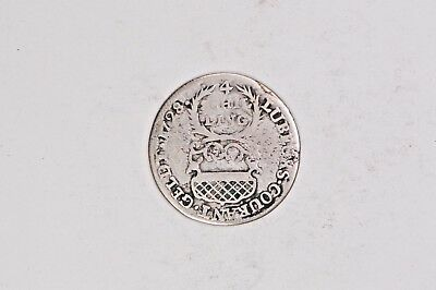 1728 Lubeck Germany 4 Shillings .99C NO RESERVE