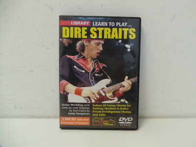 Lick Library: Learn To Play Dire Straits DVD