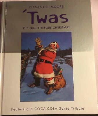Clement C.Moore Twas The Night Before Christmas Featuring A CocaCola Santa 1963