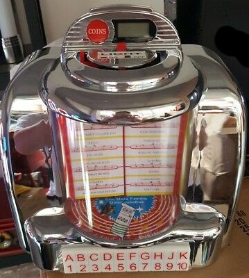 NEW Seeburg reproduction CAFE Wall Box JUKEBOX  AM/FM Radio USB SD, Bluetooth