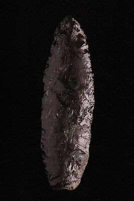 PRE COLUMBIAN, OBSIDIAN SPEAR or LANCE POINT, Mayan, Guatemala
