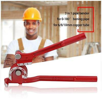 CT-369 180° Combination 3 In 1 Pipe Benders Lever Type Tube Pipe Bending Tool