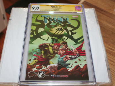 Mighty Thor #700 CGC 9.8 SS Jason Aaron Land Variant Cover A Unknown Comic Books
