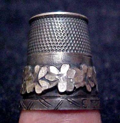 Great Antique Sterling Thimble Lot