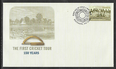 AUSTRALIA 2018 FIRST CRICKET TOUR TO ENGLAND 1868 ABORIGINAL XI 1v FDC