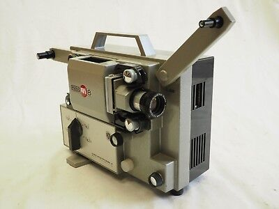 Vintage Eumig Mark 8 Projector In Excellent Condition But No Power Cord