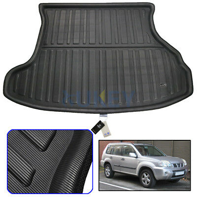 Car Rear Trunk Boot Liner Cargo Mat Floor Tray For Nissan X-Trail T30 2001-2007