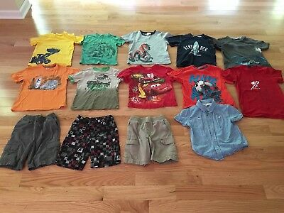 Lot Of Boys Summer Clothes Mostly Size 5