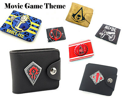 Film animation game wallet Card package Stylish Purses Multiple choices