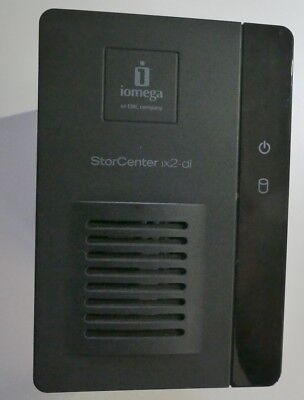 iomega StorCentre ix2-dl Network Storage (NAS) - 2 bay (diskless)