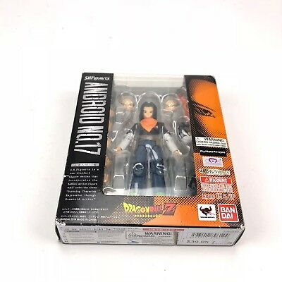 S. H. Figuarts Dragonball Z Android 17 action figure