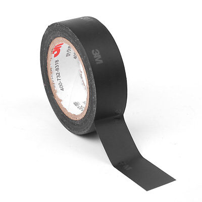 3M 1500 Industrial Electrical Tape Sticky Roll 5.7x10CM Lead Free Black