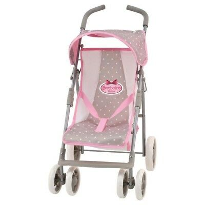 Doll's Stroller - Bambolina Boutique Buggy Doll Pram NEW