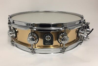 "Natal Phosphor Bronze 14"" x 4"" Piccolo Snare Drum - As New"