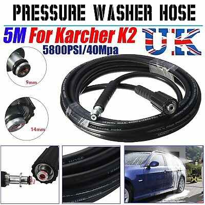 5M 5800PSI High Pressure Washer Replacement Pipe Hose For Karcher K2 Cleaner UK