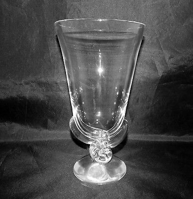Steuben Glass Footed Vase 8500 Picclick