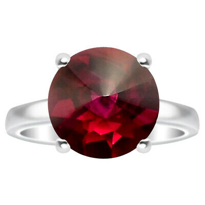 Indian Ruby 925 Sterling Silver Ring Jewelry DGR1078_A