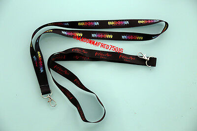 Madonna Rebel Heart Sticky & Sweet Tour Lanyard no pass ticket new collector