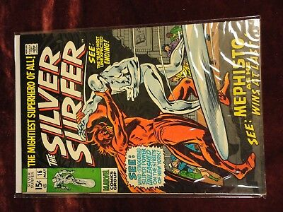 SILVER SURFER #16 1970 LAST BATTLE WITH MEPHISTO!! Beautiful! See Pics!