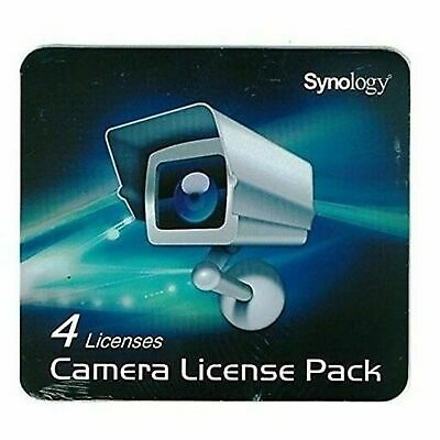 Synology Surveillance Station 4 Camera Device License Pack