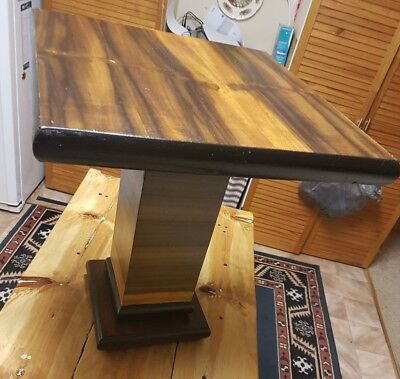 Art Deco Antique Occasional/ Side Table / Wine Table  Restored 1935 Walnut