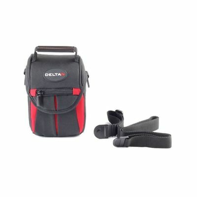 Deluxe camera bag/case/holster designed for small analog and digital cameras.