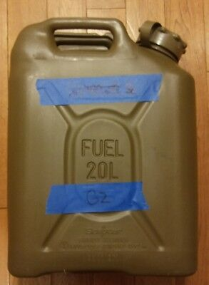 NEW Style SCEPTER US MILITARY JERRY / FUEL CAN 5 GAL/20L - Green G2