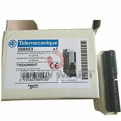 New Schneider TWDAMM6HT Expansion DC24 4IN 2OUT 0~10V 4~20mA Module Unit PLC 1PC