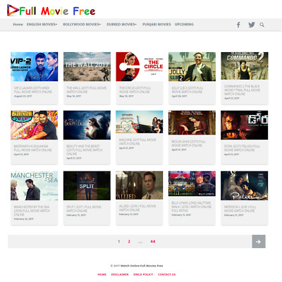 Established Movie Business Website for sale with Millions of monthly serch