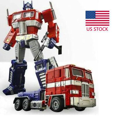 MP10V Transformer Alloy Edition Optimus Prime with flight back