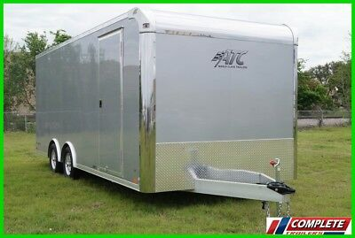 IN STOCK 8.5' X 20 Aluminum ATC Enclosed Carhauler Cargo Trailer: 5k Axles