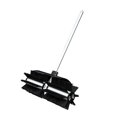 Rotating Brush Head Sweeper Attachment For the Tomking Hand Push Brushcutter