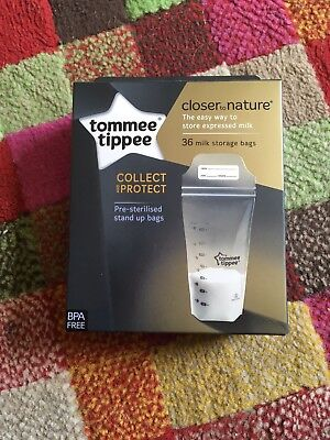 Tommie Tippee Breast Milk Storage Bags