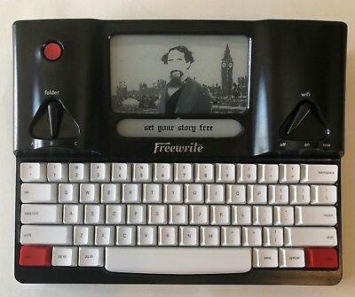 Astrohaus ANSI Freewrite Hemingwrite WiFi Typewriter E-Ink Word Processor + Bag