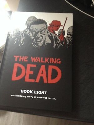 the walking dead book eight hardback