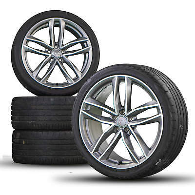 Audi A6 S6 4G 20 inch alloy wheels rim tires for summer S line Competition Rotor