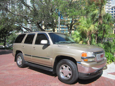 GMC Yukon Call Keith at 954-448-3659 Florida 2006 GMC Yukon SLT 4X4 V8 Leather Sunroof DVD Highway Miles Low Reserve