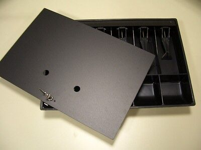 Cash Drawer Till / Tray with Lid and Lock - NCR   2260-K010-V001