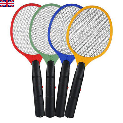 Electric Zapper Bug Bat Fly Mosquito Insect Killer Trap Swat Swatter Racket UK