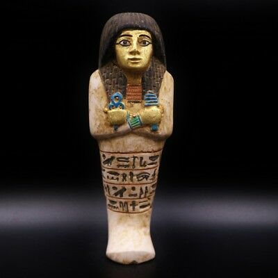 Fine Ancient Egyptian Ushabti (Shabti) Statue Figure Terracota,18 dynasty 1550BC